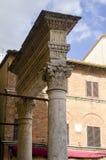 Historische Mitte von pienza Toskana Italien Lizenzfreie Stockfotos