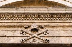 Historische Mitte von pienza Toskana Italien Lizenzfreie Stockfotografie