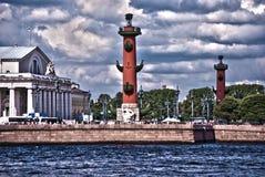 Historische Mitte von St Petersburg. HDR. Lizenzfreies Stockfoto