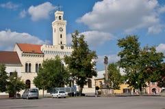 Historische Mittelstadt Postoloprty stockbild