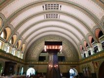 Historische MO de V.S. van het de bouwst.louis station royalty-vrije stock afbeeldingen
