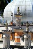 Historische moskee, Masjid Jamek in Kuala Lumpur, Maleisië Royalty-vrije Stock Fotografie