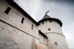 Historische muren van monument royalty-vrije stock fotografie