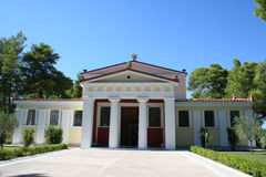 Historische Olympia - Griechenland Lizenzfreies Stockfoto