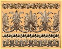 Historische ornamenten Stock Afbeeldingen