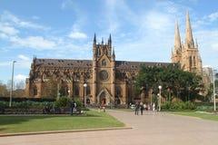 Historische oude kerk in Sydney Stock Afbeelding