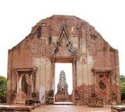 Historische oude stad. Ayutthaya Stock Foto