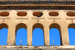 Historische Paigah-Gräber in Hyderabad Indien lizenzfreie stockbilder