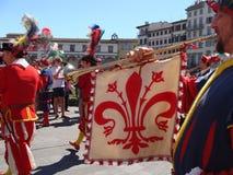 Historische parade Stock Foto