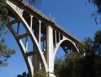 Historische Pasadena-Brücke lizenzfreies stockbild