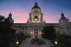 Historische PasadenaRathaus in Kalifornien, USA lizenzfreie stockfotografie