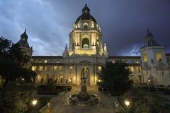 Historische PasadenaRathaus in Kalifornien, USA lizenzfreies stockfoto