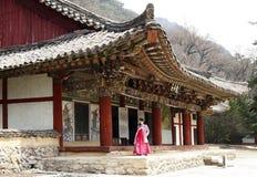 Historische plaats de Noord- van Korea Royalty-vrije Stock Foto