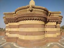 Historische plaats en Oude Architectuur van Bhuj, Gujarat stock foto