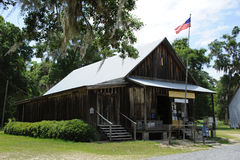 Historische Post Florida USA lizenzfreies stockfoto