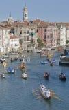 Historische Regatta 2 van Venetië stock foto