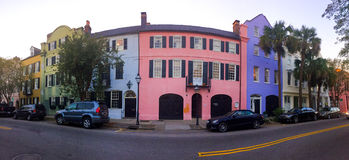 Historische Regenboogrij, Charleston, Sc Royalty-vrije Stock Foto