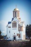Historische Rekonstruktion der christlichen Kirche Stockbilder