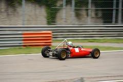 Historische Rennende Formulemindere Stock Foto's