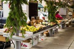 Historische Roanoke-Landbouwersmarkt Stock Foto's