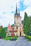Historische Roemeense Orthodoxe kerk BraÈ™ov Roemenië Stock Foto's
