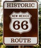 Historische Route 66 in de V.S. stock foto's