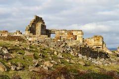 Historische ruïnes stock afbeeldingen