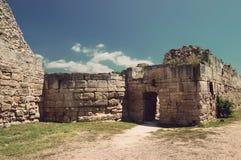 Historische ruïnes in de Krim royalty-vrije stock afbeelding