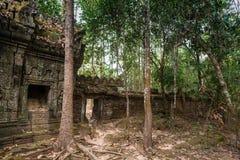 Historische Ruinen des Ta-Som-Tempels Stockfoto