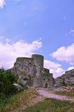 Historische ruinierte Festung in Bosnien und Herzegowina Stockfotografie