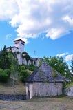 Historische ruinierte Festung in Bosnien und Herzegowina Lizenzfreie Stockfotos