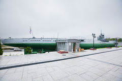 Historische Russische militaire onderzeeër Royalty-vrije Stock Fotografie