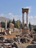 Historische Säulen lizenzfreies stockbild