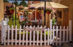Historische Santa Fe New Mexiko lizenzfreie stockfotografie