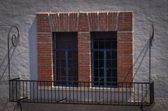 Historische Santa Fe New Mexiko Lizenzfreies Stockbild