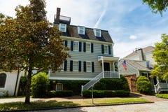 Historische Savannah Home Lizenzfreie Stockfotos