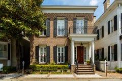 Historische Savannah Home Lizenzfreie Stockfotografie