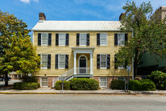 Historische Savannah Home Stockbilder