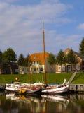 Historische schepen Royalty-vrije Stock Foto's