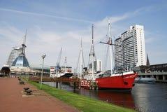 Historische schepen Stock Afbeeldingen