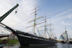 Historische schepen Royalty-vrije Stock Foto