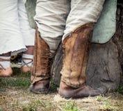 Historische Schuhe Lizenzfreie Stockfotografie