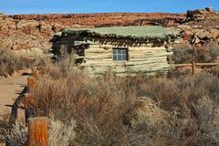 Historische Site der Wolfe-Ranch Stockfotografie