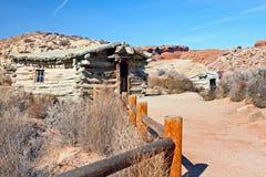 Historische Site der Wolfe-Ranch Stockbilder