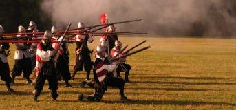 Historische Slag van Witte Berg Royalty-vrije Stock Fotografie
