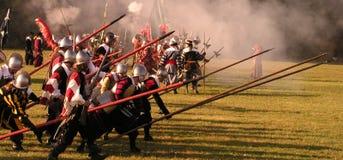 Historische Slag van Witte Berg Stock Foto