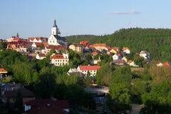 Historische stad Stock Foto