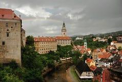 Historische stad Stock Afbeeldingen
