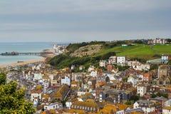Historische stad Hastings Royalty-vrije Stock Fotografie