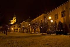 Historische stad Kremnica Royalty-vrije Stock Afbeelding